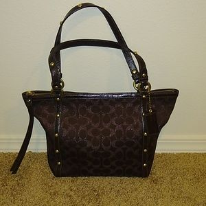 Coach Signature Collection Brown Tote